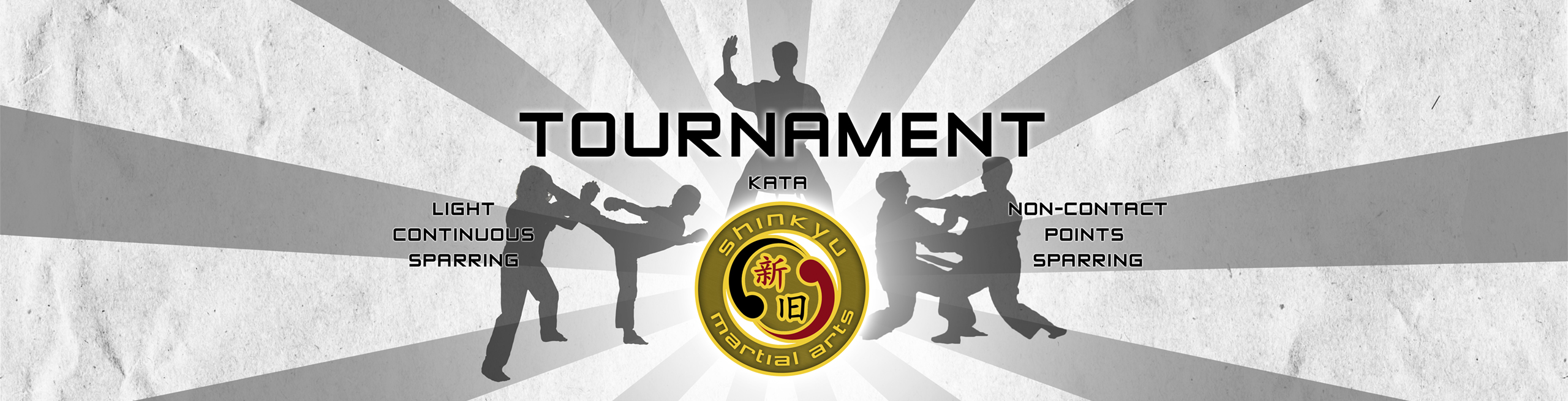 martial arts website tournament slider