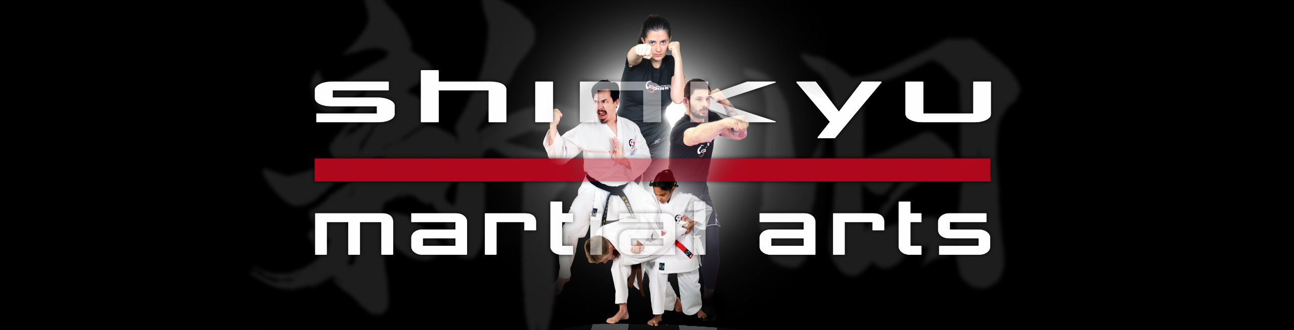 martial arts website slider